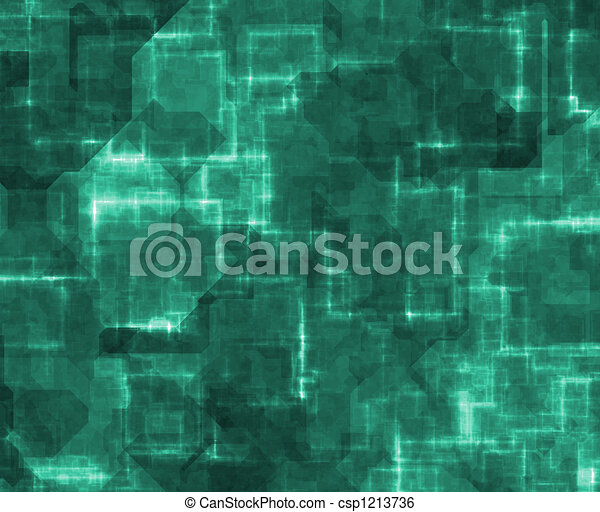 Abstract Cyberspace Technology Background - csp1213736