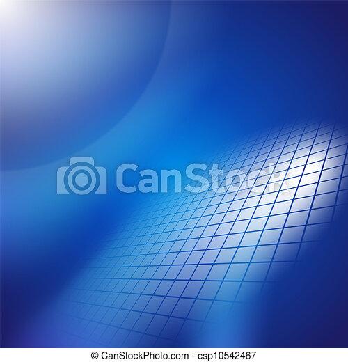 Abstract dark blue background. - csp10542467