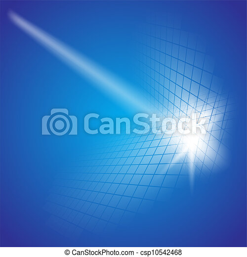 Abstract dark blue background. - csp10542468