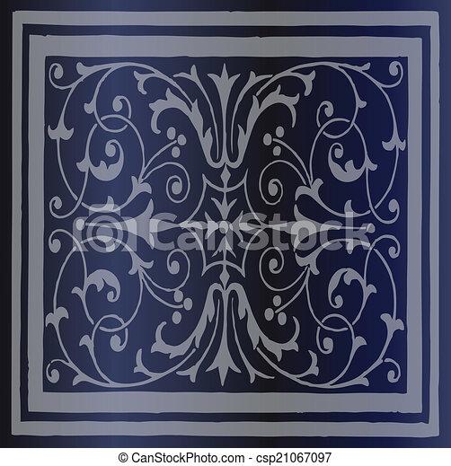 Abstract Dark Blue Background - csp21067097