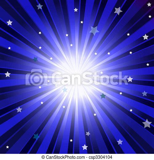 Abstract Dark Blue Background - csp3304104