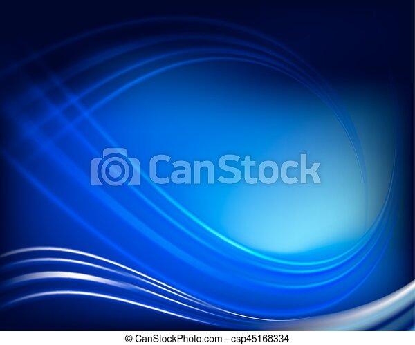 abstract dark blue background - csp45168334