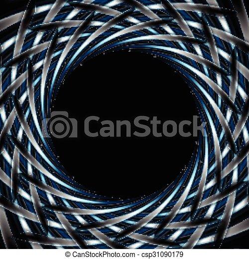 Abstract dark blue background - csp31090179