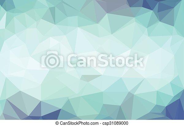 Abstract dark blue background - csp31089000