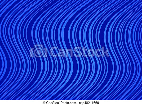 Curved Lines In Art : Abstract dark blue background with curved lines clip