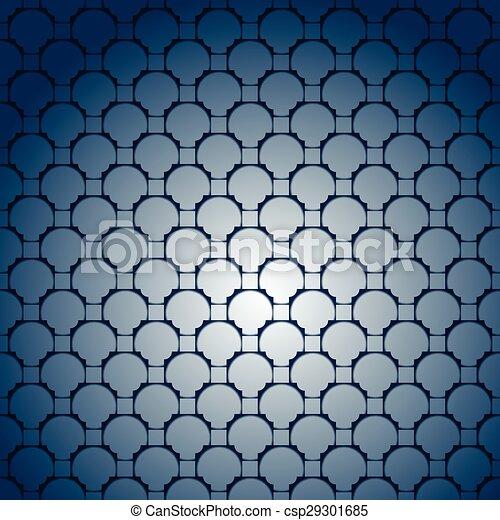 abstract dark blue - csp29301685