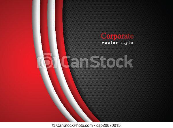 Abstract dark corporate background - csp20870015