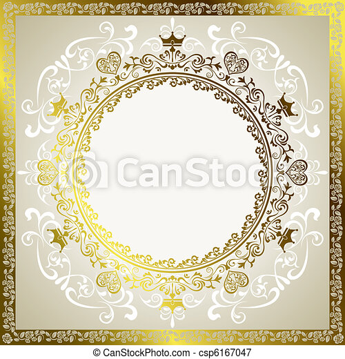 Abstract decoration frame - csp6167047