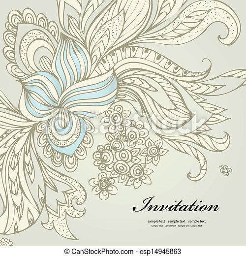 abstract decorative design - csp14945863