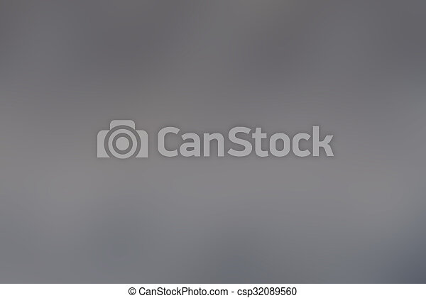 Abstract defocused gray blurred background - csp32089560