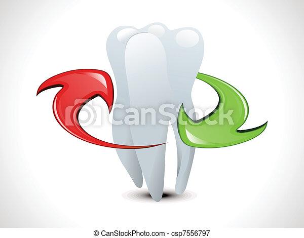 Abstract Dental Wallpaper Vector Illustration