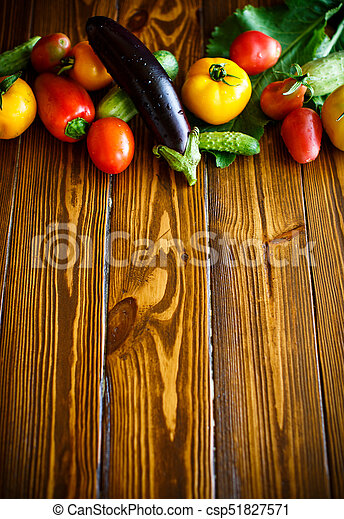 abstract design background vegetables - csp51827571