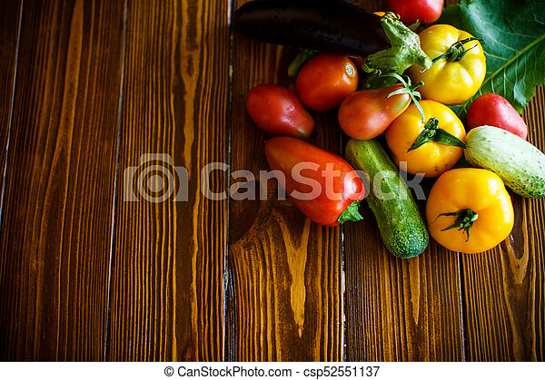 abstract design background vegetables - csp52551137