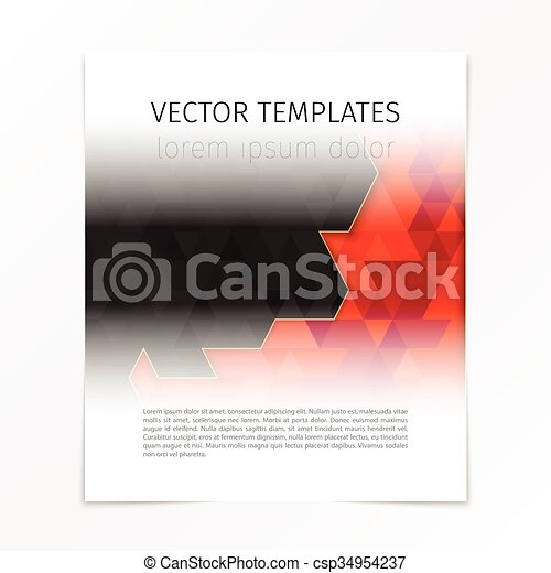 abstract cover page