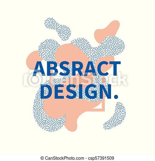 Abstract Design Decorative Banner - csp57391509