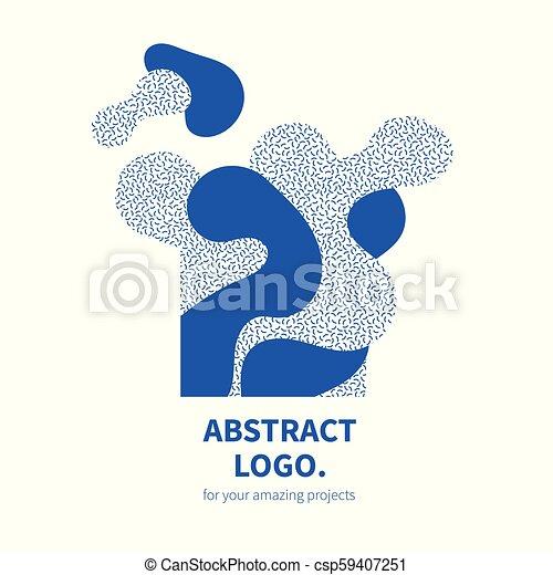 Abstract Design Decorative Logo - csp59407251