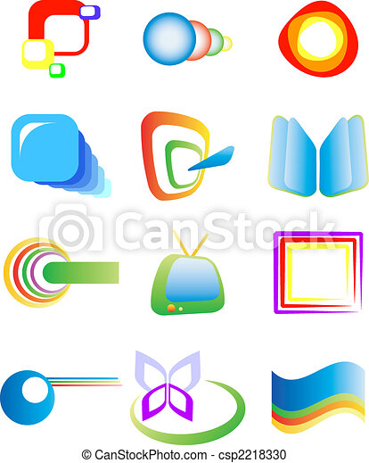 Abstract design elements - csp2218330