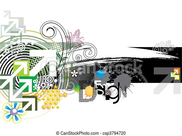 Abstract Design - csp3794720
