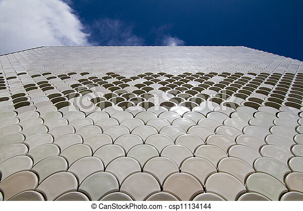abstract detail of modern building - csp11134144