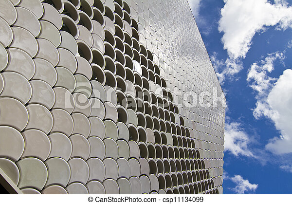 abstract detail of modern building - csp11134099
