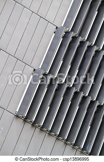 abstract detail of modern building - csp13896995