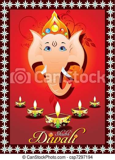 Abstract diwali greeting card vector illustration drawing search abstract diwali greeting card csp7297194 m4hsunfo Choice Image