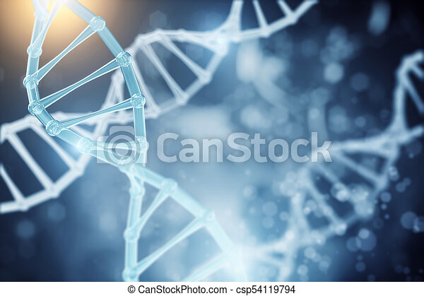 Abstract Dna Wallpaper Science And Innovation Concept 3d Rendering