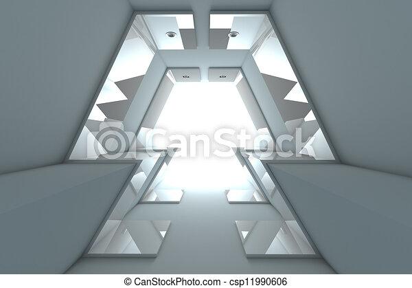 Abstract Empty Room  - csp11990606