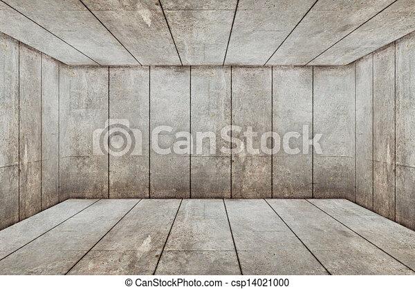 Abstract empty room - csp14021000