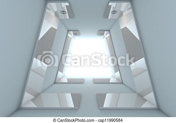Abstract Empty Room   - csp11990584