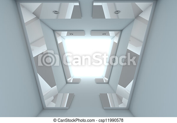 Abstract Empty Room  - csp11990578