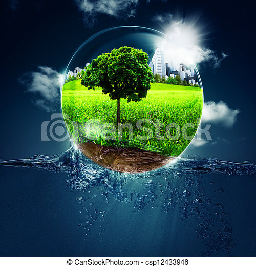 Abstract environmental backgrounds for your design - csp12433948