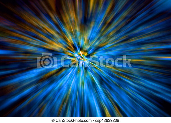 abstract explosion background - csp42639209