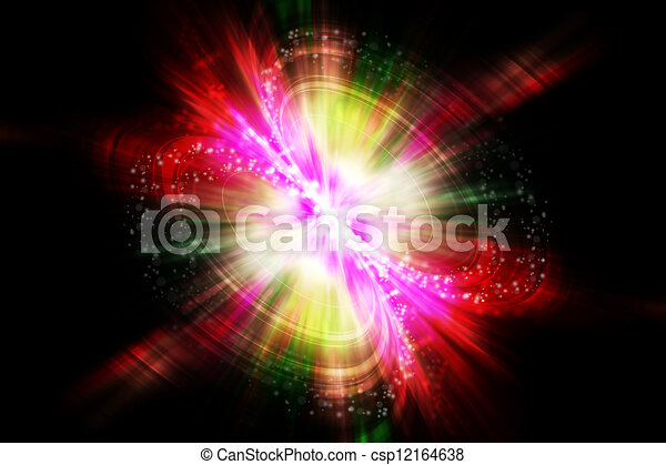 abstract explosion background - csp12164638