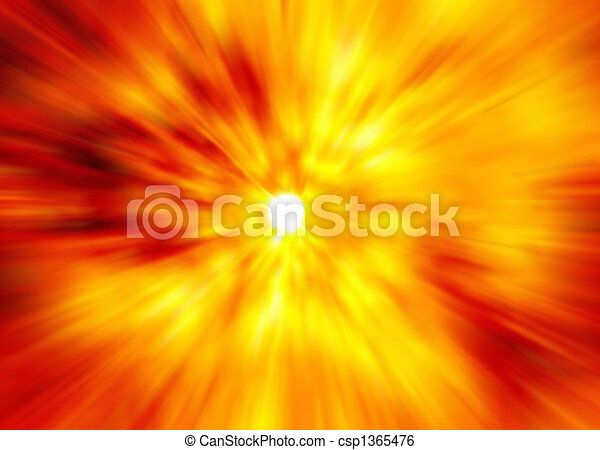 abstract explosion background - csp1365476