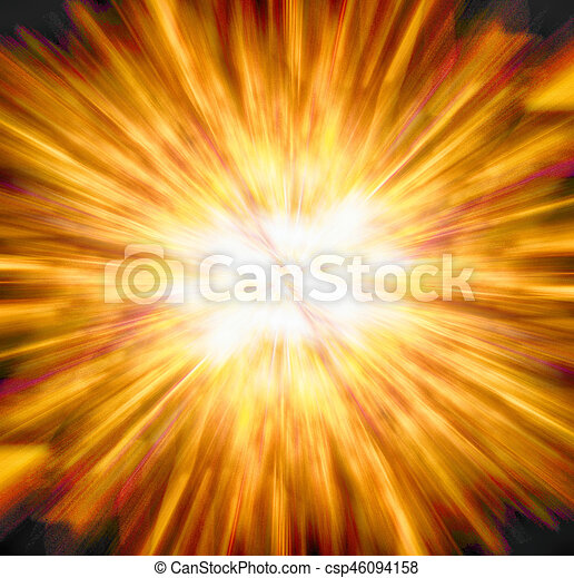 abstract explosion background - csp46094158