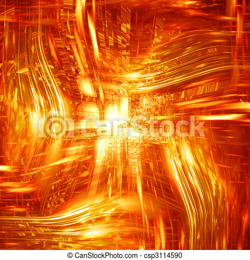 Abstract explosion - csp3114590