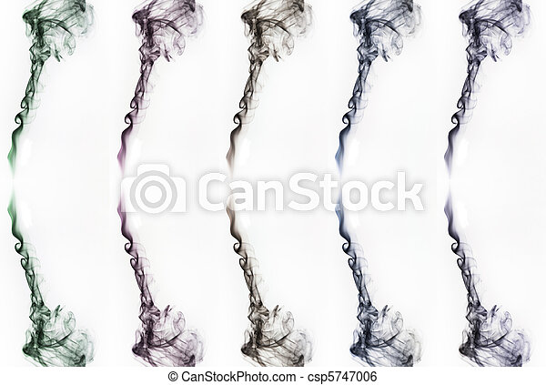 Abstract fantasy smoke texture background - csp5747006
