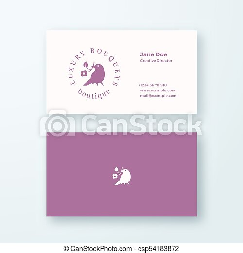 Abstract feminine vector sign symbol or logo and business card abstract feminine vector sign symbol or logo and business card template premium stationary accmission Gallery