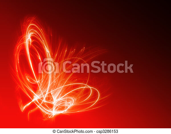 abstract fire background - csp3286153