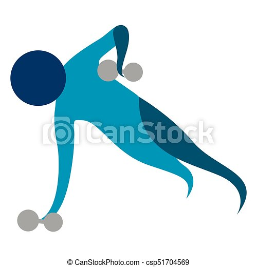 abstract fitness icon isolated on white background vector clip rh canstockphoto ie fitness clipart girl fitness clipart free