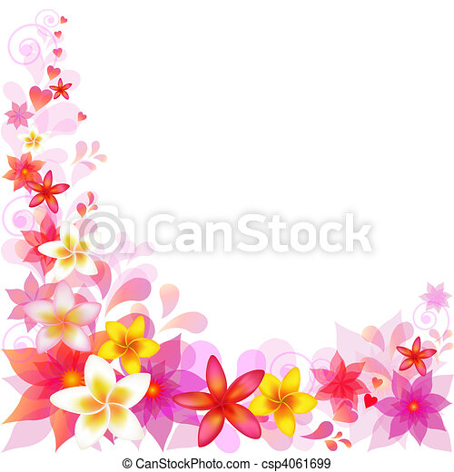Abstract Floral Background - csp4061699