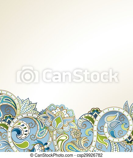 Abstract Floral Background - csp29926782