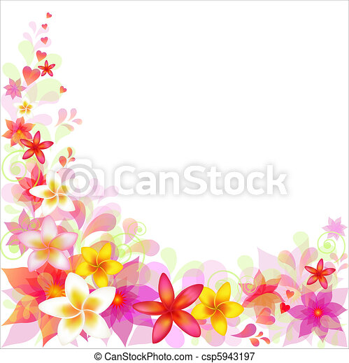 Abstract Floral Background - csp5943197