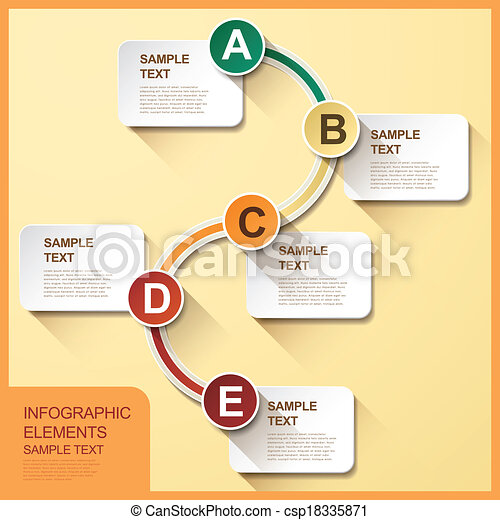 Abstract flow chart infographics 3d vector abstract flow chart abstract flow chart infographics csp18335871 ccuart Image collections