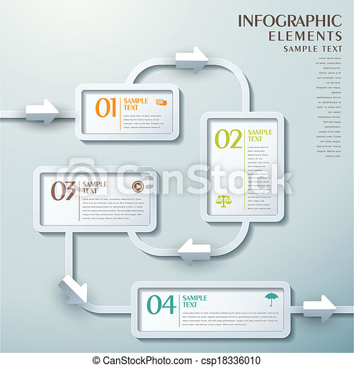 Abstract flow chart infographics 3d vector abstract flow chart abstract flow chart infographics csp18336010 ccuart Image collections