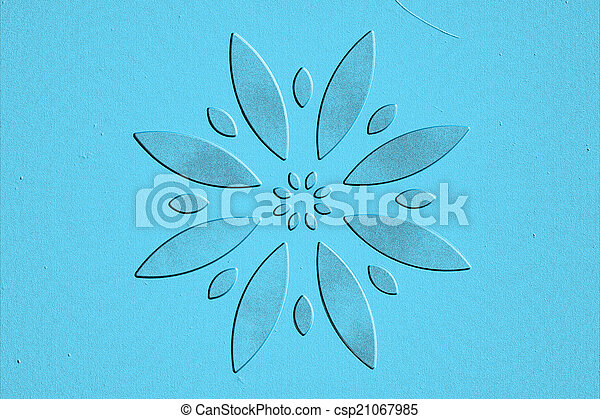 abstract flower - csp21067985