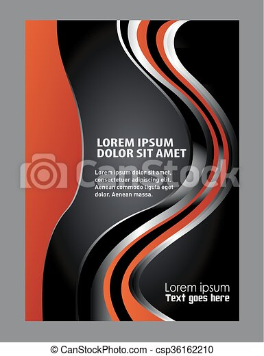 Abstract flyer background - csp36162210