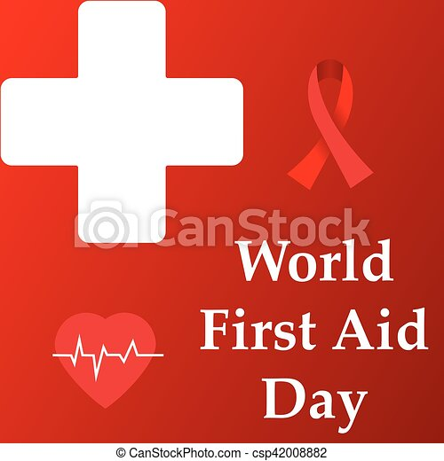 abstract for World First Aid Day - csp42008882