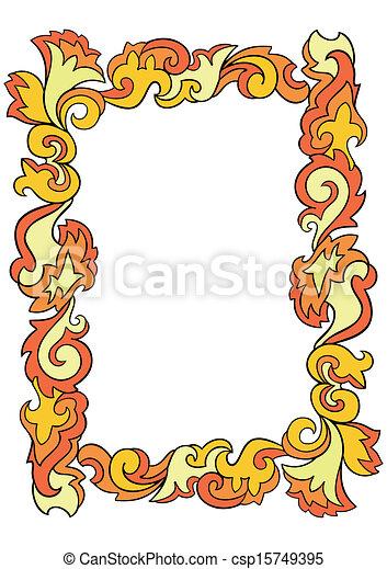 Abstract frame - csp15749395